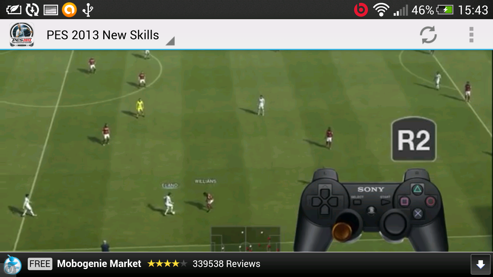 PES 2013 New Skills - screenshot