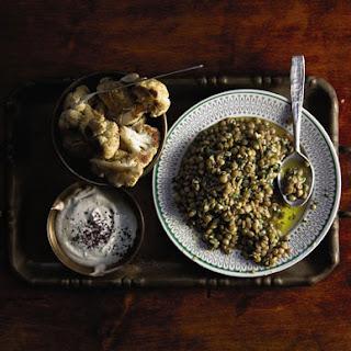 Salata Adas (Garlicky Lentil Salad).