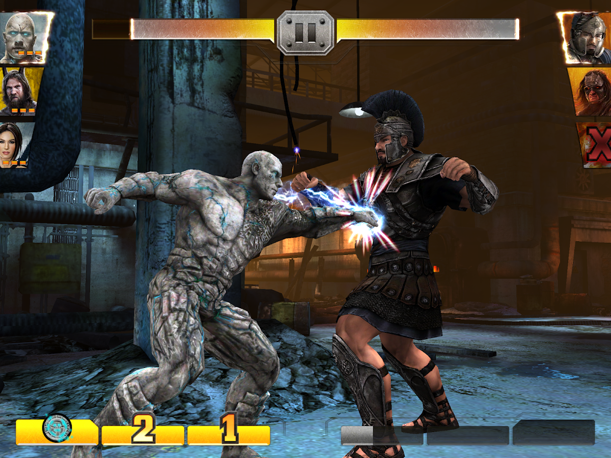 WWE Immortals- screenshot