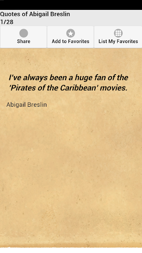 Quotes of Abigail Breslin