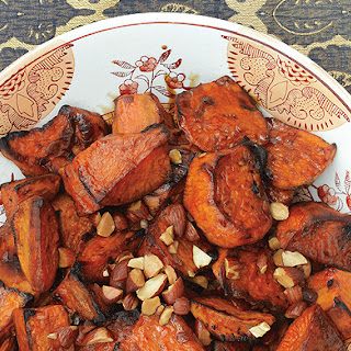 Sweet Potatoes with Bourbon and Maple.