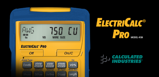 Electricalc pro calculator apps on google play greentooth Gallery