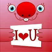 """I love you"" greeting cards"