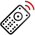 TV remote control test icon