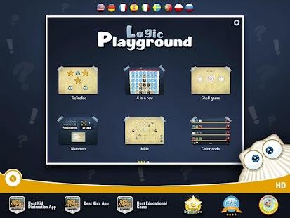 Logic Playground Games 4 Kids