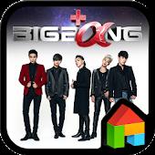 BIGBANG+α LINE Launcher theme