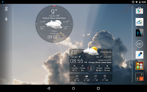 Weather Live- screenshot thumbnail