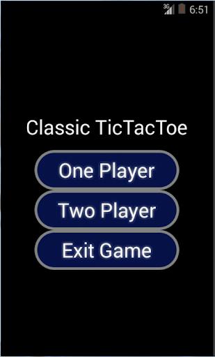 Classic TicTacToe