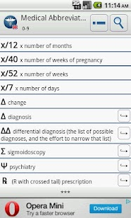 Medical Abbreviations EN - screenshot thumbnail