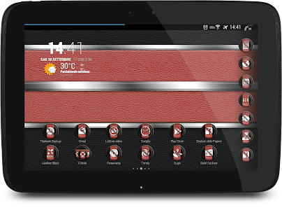 Leather Black & Red Theme v1.1.3