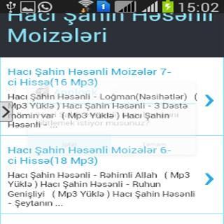 Hacı Şahin Həsənli Moizələri