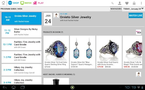 HSN Tablet Shop App - screenshot thumbnail