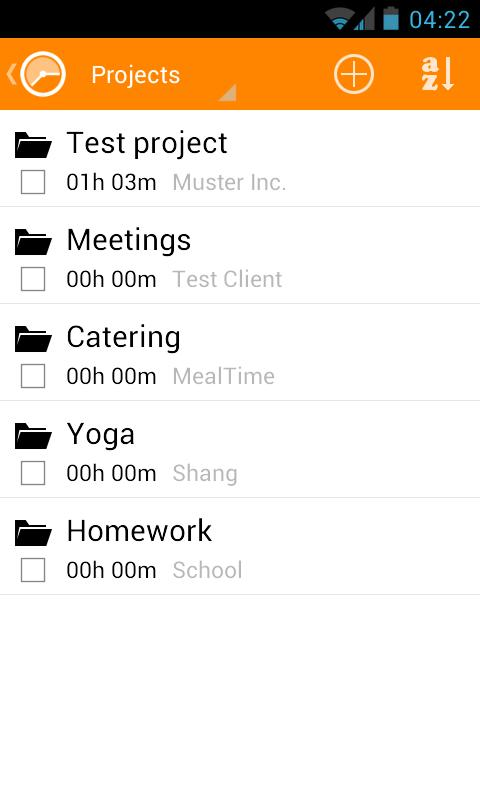 Timesheet - Time Tracker - screenshot