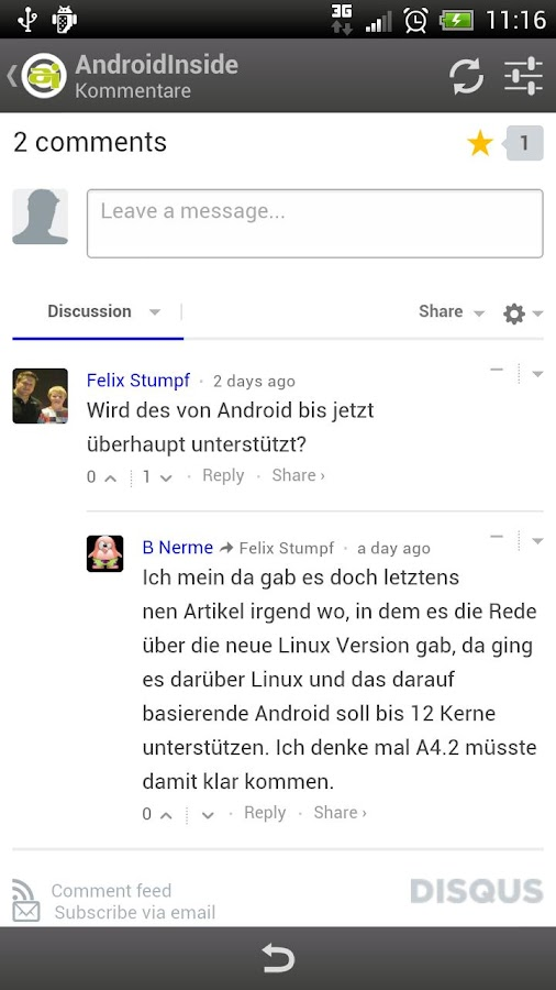 AndroidInside - screenshot