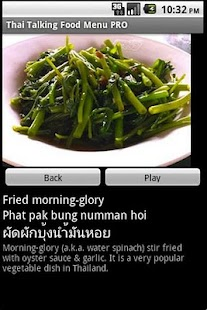 Thai Talking Food Menu Pro- screenshot thumbnail