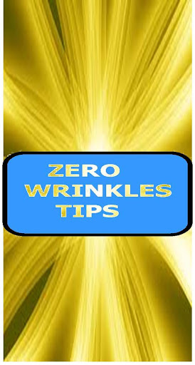 zero wrinkles tips