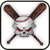 Baseball Skull doo-dad