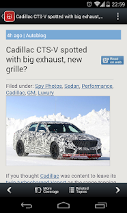 Auto News & Reviews - screenshot thumbnail