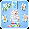 jeu mémoire enfants, gratuit icon