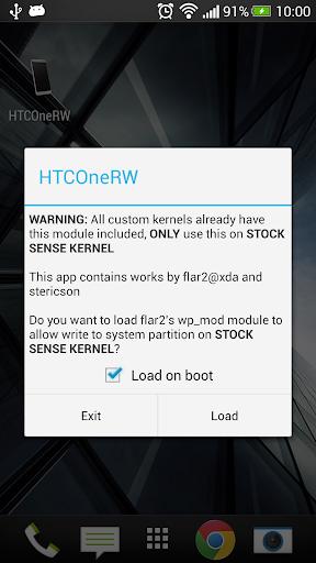 HTC One RW abandonded
