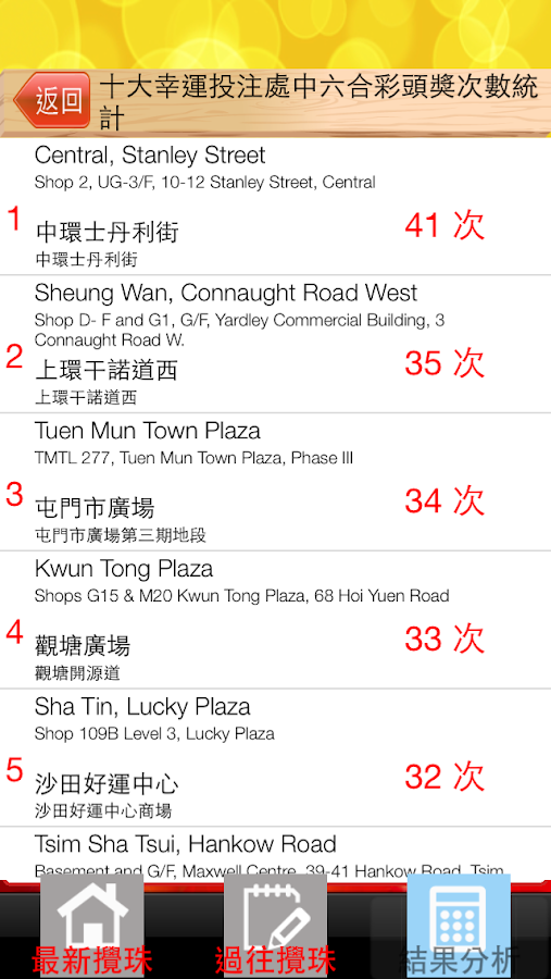 HK Mark Six For Elderly Free - screenshot