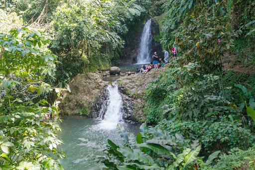 Seven Sisters Waterfalls on Grenada.