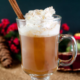 Slow Cooker Colonial Hot Buttered Rum.
