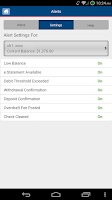 Screenshot of Arvest Mobile Banking