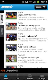 Sports.fr - screenshot thumbnail