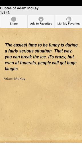 Quotes of Adam McKay