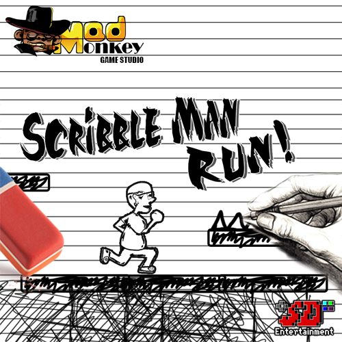 Scribble Man Run