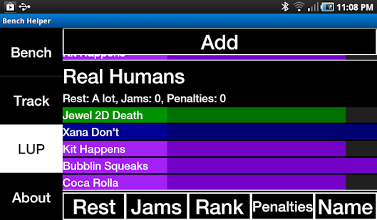 Bench Helper (Roller Derby)- screenshot thumbnail
