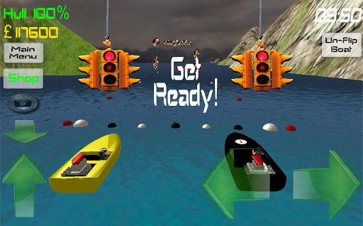 Power Boat Speed Racing 3D