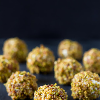 Bacon Pistachio Goat Cheese Balls Recipe