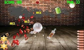 Screenshot of BottleShooting 2