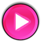 Deep Pink skin for Poweramp