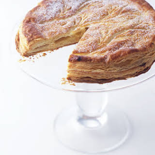 Puff Pastry Tart Filled with Almond Cream.