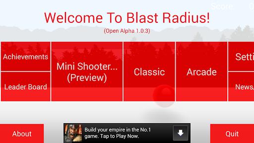 Blast Radius Open Alpha