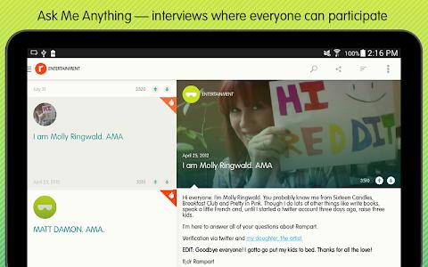 Ask Me Anything - reddit AMA v1.1.5