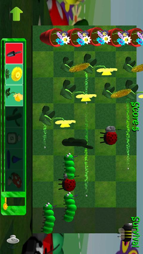 Plants V Bugs 2 Free - screenshot