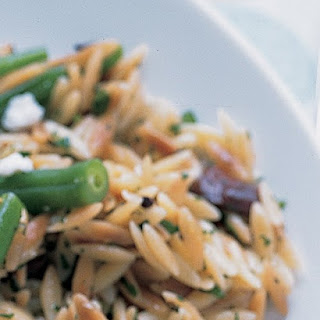 Toasted Orzo with Olives and Lemon.