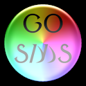 GoSMSPro Pearl – Rainbow logo