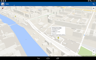 Screenshot of LPG CNG Finder Europe