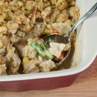 Easy Leftover Turkey Casserole.