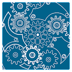 Clock Blueprint Wallpaper icon