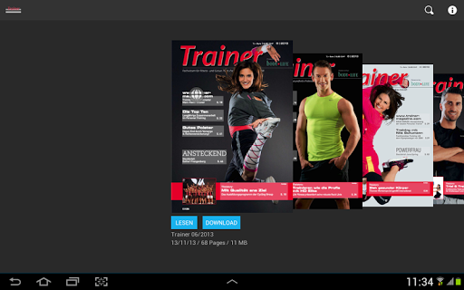 TRAINER Magazin