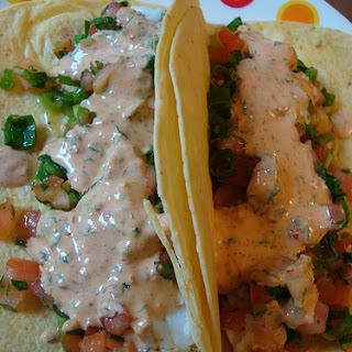 Brilliant Fish Tacos.