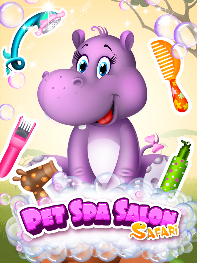 Pet Spa Salon: Safari- screenshot