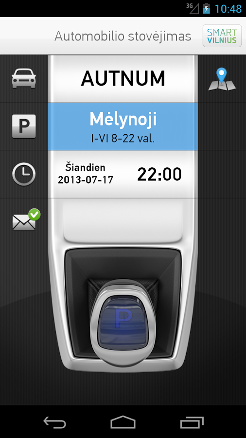 Screenshots of m.Parking for Android