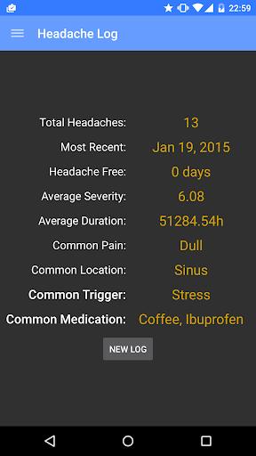 Headache Log